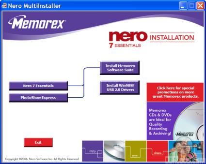 MEMOREX 8X QUICK INSTALL MANUAL Pdf Download