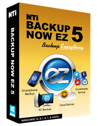 NTI backup now ez 5 box