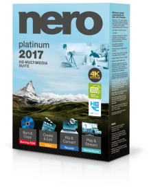 nero 2017 platinum box