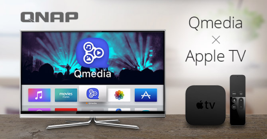 qnap qmedia apple tv