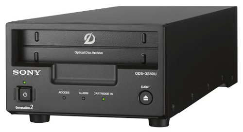 sony ods-d280u optical disc archive