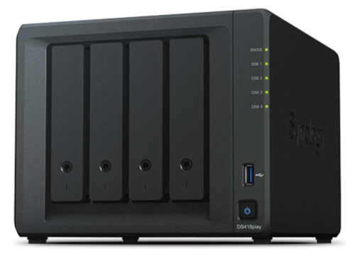 synology diskstation DS418play nas