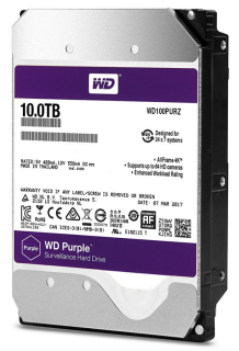 wd purple hdd 10tb