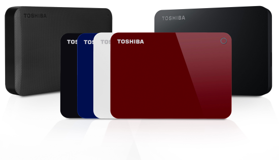 toshiba 4tb canvio hard drives