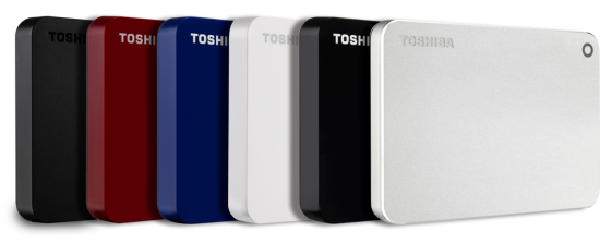 toshiba Canvio portable hdd