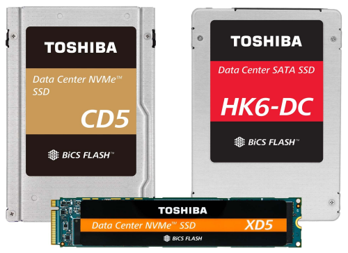 toshiba data center ssd bics