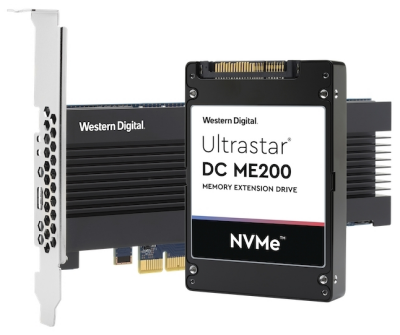 wd ultrastar dc me200 memory extension drive