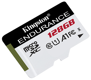 kingston high endurance microsd
