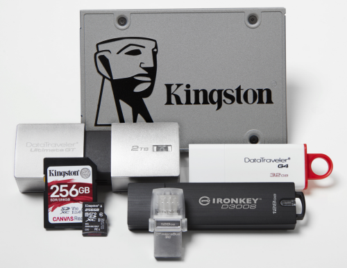 kingston products ces 2019