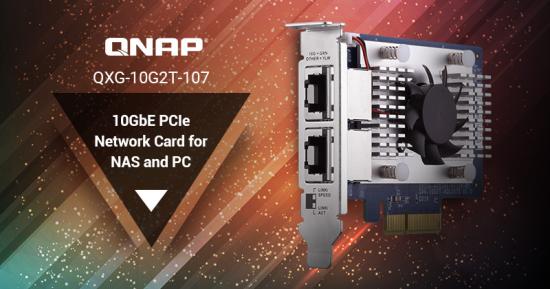 CDRLabs com - QNAP Introduces QXG-10G2T-107 Dual-Port 10GbE