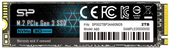 silicon power P34A60 pcie ssd