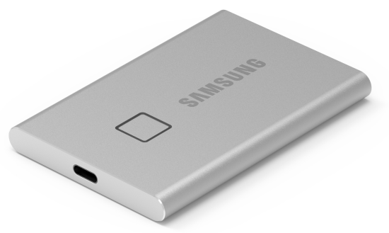 Samsung Portable SSD T7 Touch Silver