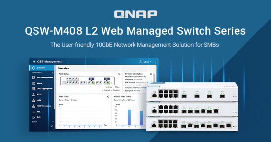 qnap qsw m408 switch