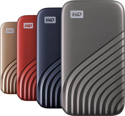 wd my passport ssd colors