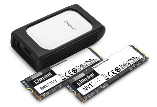 kingston nvme ssd lineup