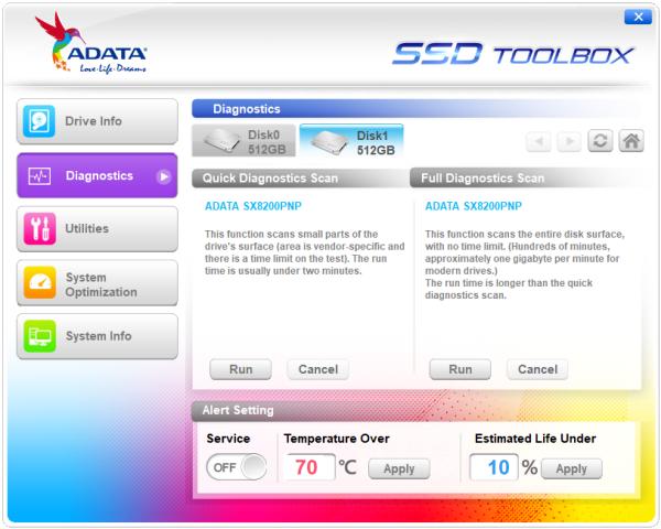 CDRLabs com - SSD Toolbox - ADATA XPG SX8200 Pro 512GB PCIe M 2