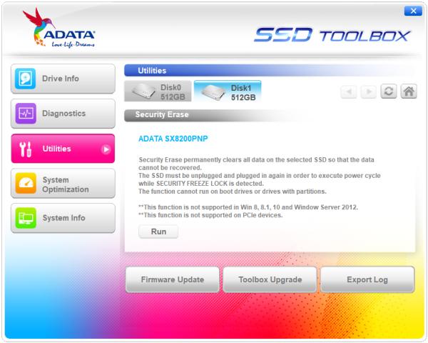CDRLabs com - SSD Toolbox - ADATA XPG SX8200 Pro 512GB PCIe