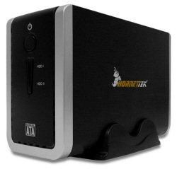 HornetTek X2-RAID Dual Bay eSATA/USB 2.0 Enclosure