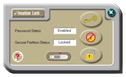 Unlock imation thumb drive