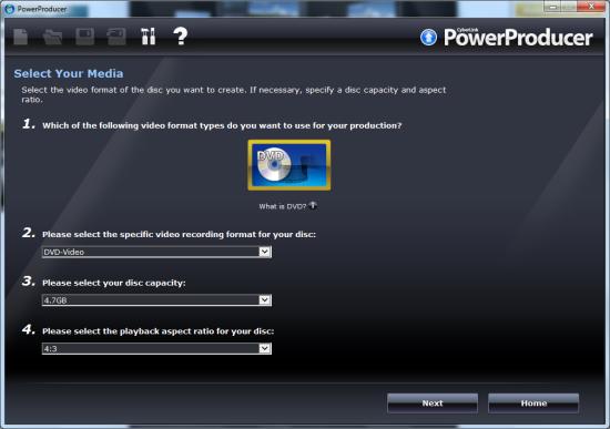 power dvd producer