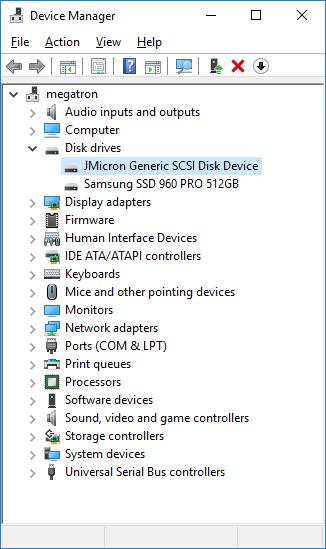CDRLabs.com - Setup - MyDigitalSSD M2X USB 3.1 Gen 2 M.2 PCIe NVMe