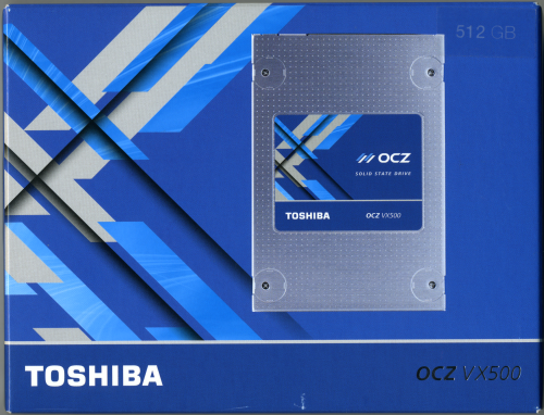 CDRLabs com - Toshiba OCZ VX500 512GB Solid State Drive
