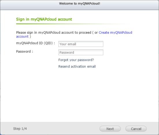 CDRLabs com - myQNAPcloud - QNAP TS-453mini 4-Bay Vertical NAS - Reviews