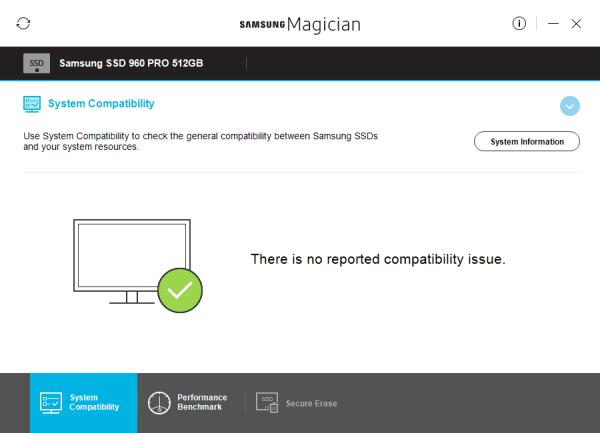 CDRLabs com - Magician Software - Samsung 960 PRO 512GB M 2