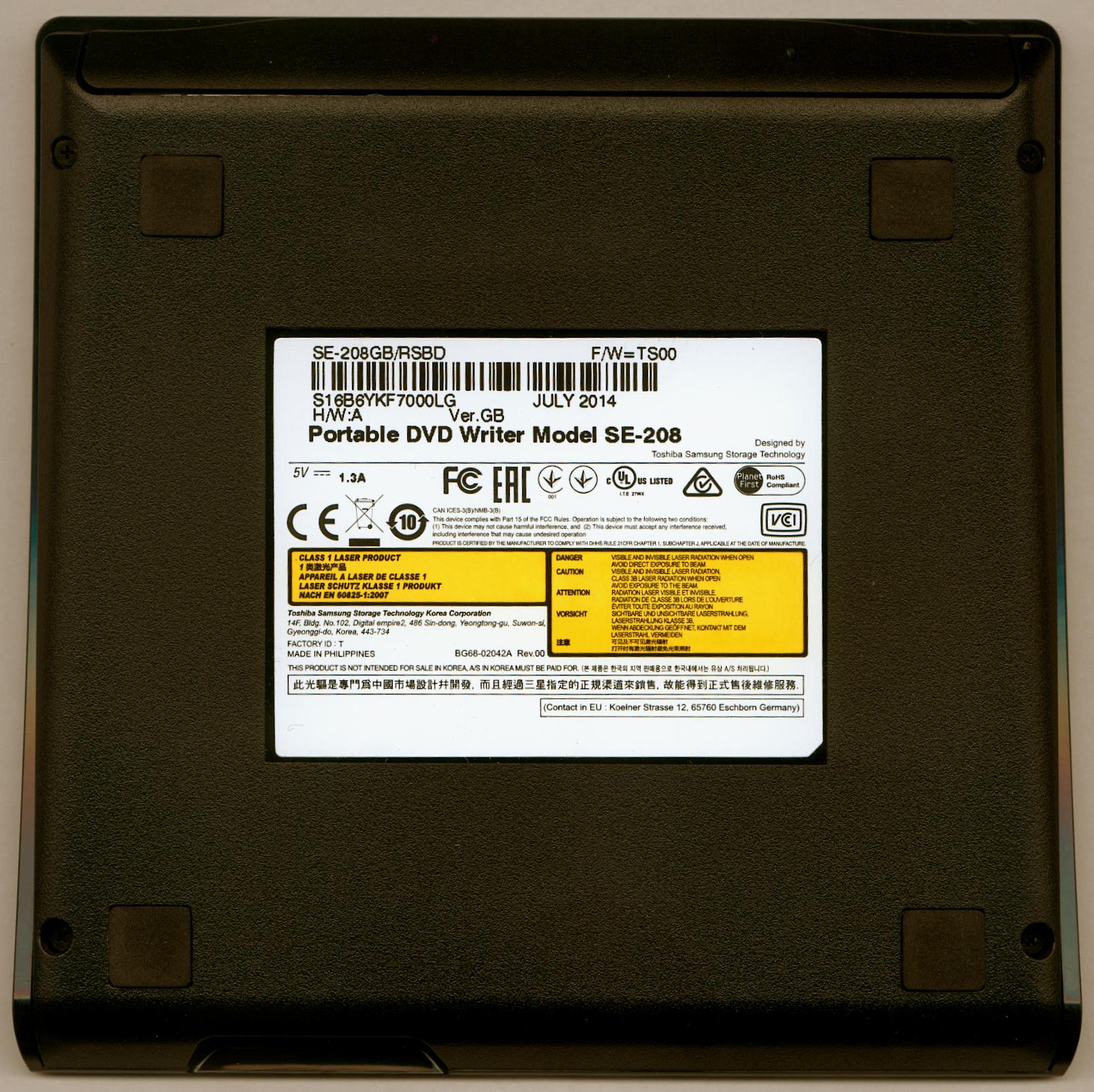 Portable dvd writer model se 208 драйвер youtube.