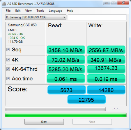 and hd tune   samsung ssd 850 evo 120gb solid state drive   reviews