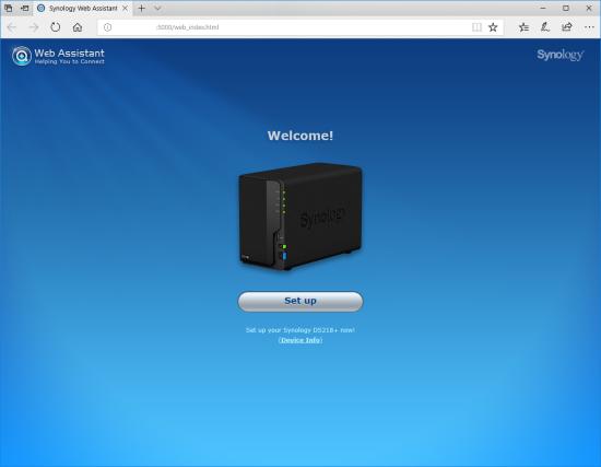 CDRLabs com - Setup - Synology DiskStation DS218+ 2-Bay NAS