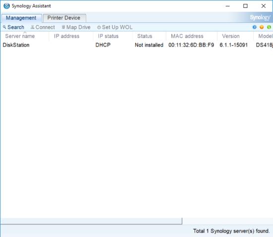 CDRLabs com - Setup - Synology DiskStation DS418j 4-Bay NAS Server