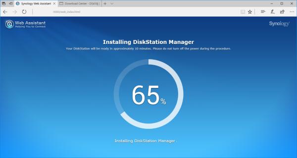 CDRLabs com - Setup - Synology DiskStation DS418j 4-Bay NAS