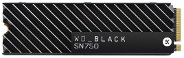 WD Black SN750 Heatsink SSD
