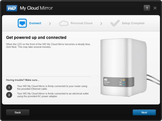 CDRLabs com - Setup - Western Digital My Cloud Mirror 4TB Personal