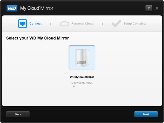 setup western digital my cloud mirror 4tb personal cloud storage reviews. Black Bedroom Furniture Sets. Home Design Ideas