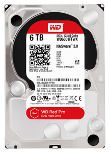 wd red pro 6tb hdd
