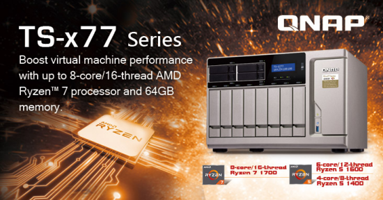 CDRLabs com - QNAP Unveils World's First Ryzen-Based NAS At Computex