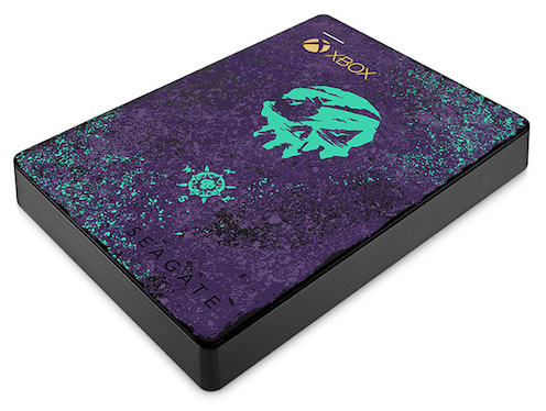 seagate sea of thieves game drive xbox