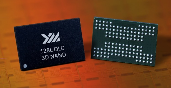 YMTC 128 layer qlc 3d nand