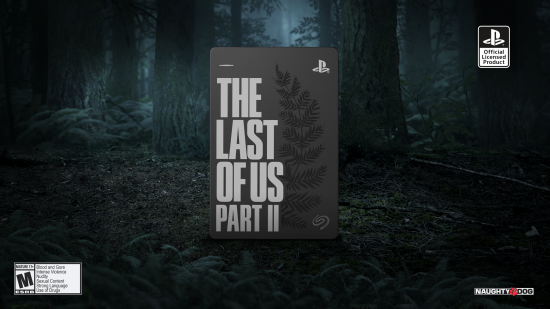 seagate last of us ii game drive