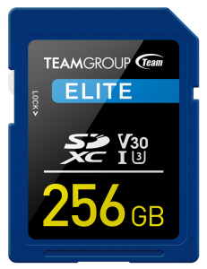 team group elite sdxc memory card