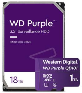 wd purple 18tb hdd microsdxc