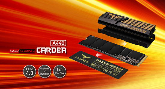 team group t force cardea a440 pcie ssd