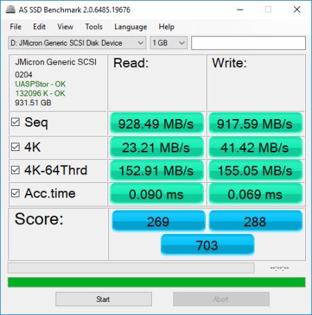 CDRLabs.com - MyDigitalSSD M2X USB 3.1 Gen 2 M.2 PCIe NVMe SSD