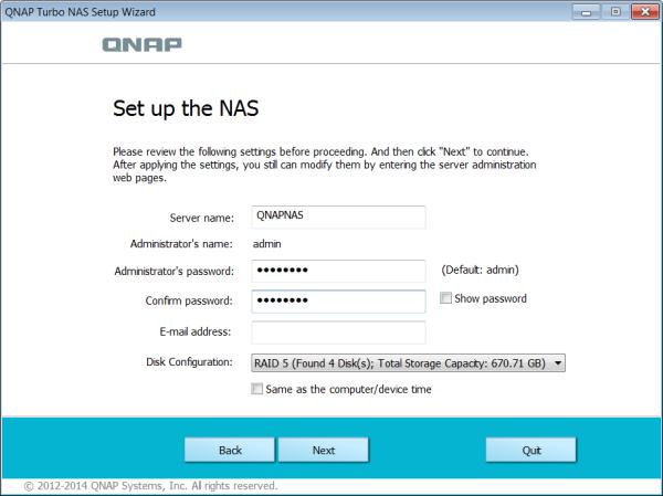 CDRLabs com - QNAP TS-470 4-Bay Turbo NAS Server - Reviews